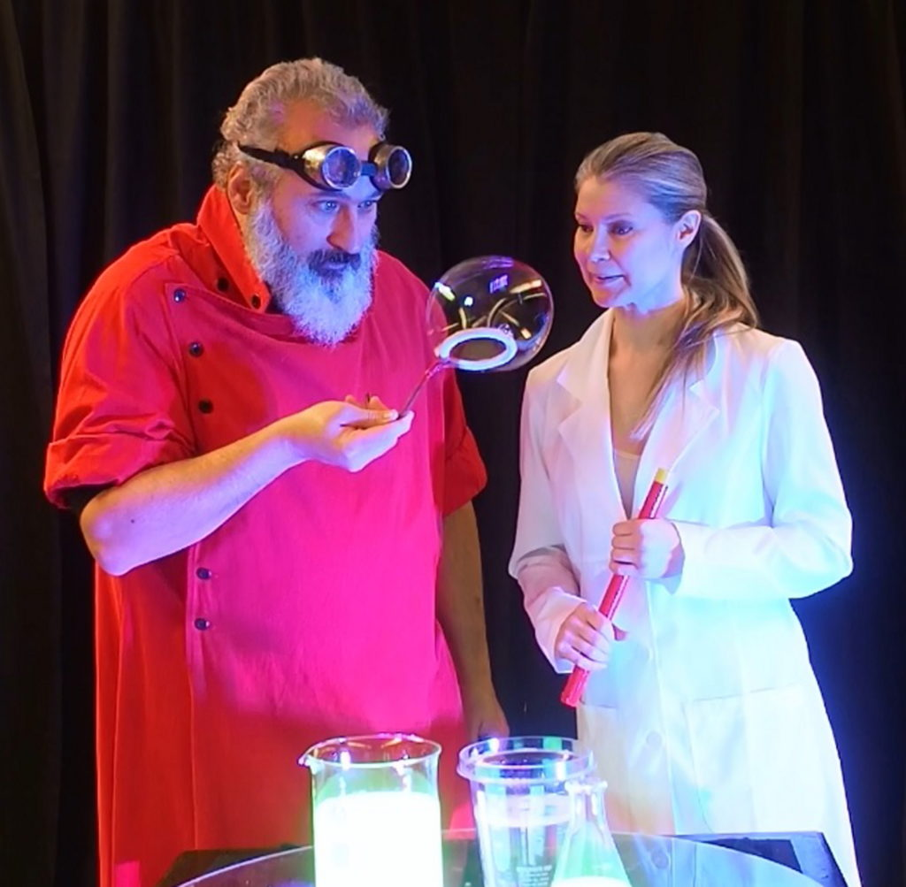 Professor Suds Crazy Science Bubble Show