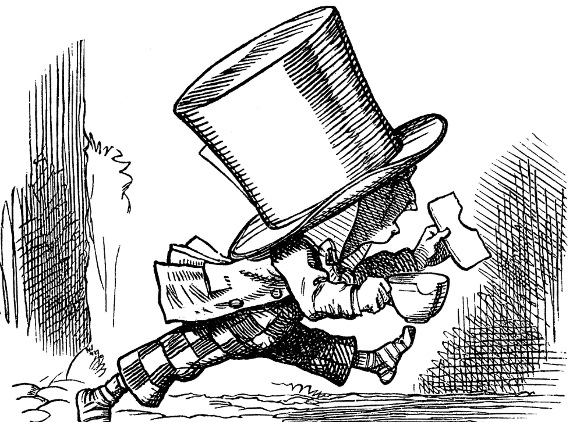 A Real Mad Hatter