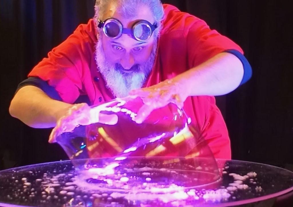 Professor Suds Crazy Science Bubble Show